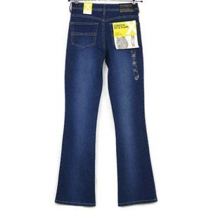 Vintage Express Fit Flare Jeans Low Rise 5 6 Long
